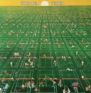 Chris Rea - Tennis (LP) (EX+/EX)